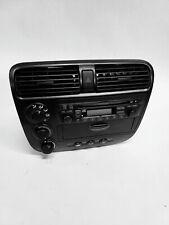 Radio diafragma din autoradio para Honda Civic 2001-2003 manuales clima negro 76084
