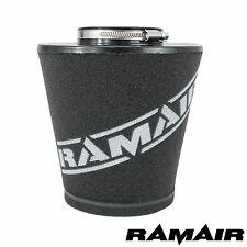 Ramair Large 90mm Auto Universale Collo Cono In Schiuma Filtro Aria Per Kit Di Induzione