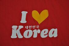 T-SHIRT M MEDIUM I LOVE KOREA HEART SHIRT