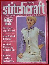 Vintage Stitchcraft Magazine May 1976