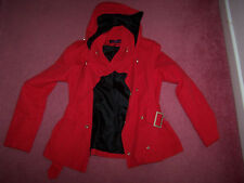 Miss Real red jacket size 10