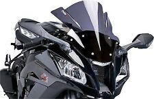 Racing Windscreen PUIG Dark Smoke 2207-F For BMW K1200S K1300S ABS