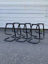 6 Paperclip Bar Stools Set by Haworth Kinetics Chairs Mid Century Post Modern