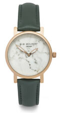 Elie Beaumont NEW Sage Carrera leather watch