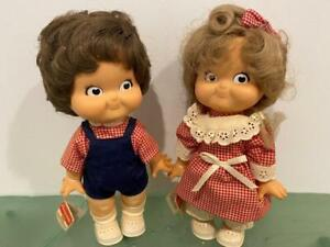 """Campbell Soup Kids Vtg 2 Doll Set 1988 Special Edition Bette Ball 10"""" Orig Tags"""