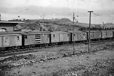 New 5x7 Civil War Photo: Box Cars at Depot with Union Cavalry Guard, Chattanooga
