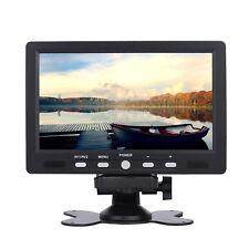 """7"""" Zoll TFT-LCD Rückfahrkamera Monitor DVD Kamera Bildschirm NTSC/PAL System"""