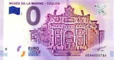 83 TOULON Musée de la Marine, N° de la 8ème liasse, 2018, Billet 0 € Souvenir