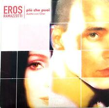 Eros Ramazzotti Duetto Con Cher CD Single Più Che Puoi - Europe (VG+/VG+)