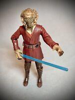 2004 STAR WARS - Jedi Master Plo Koon w/ Lightsaber Action Figure
