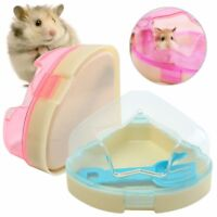 Hamsters Gerbils Mice Cage Corner Toilet Potty With Star Roof & Litter Scoop