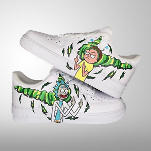 """Air Force 1 Custom """"Rick and Morty"""""""