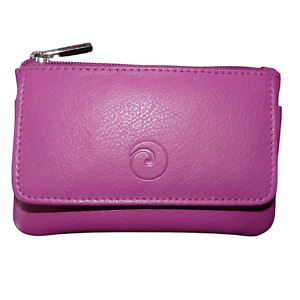 Mala Leather ORIGIN RFID coin purse PLUM, RED, BERRY!! real soft leather 4110 5