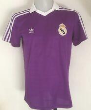 Real Madrid adidas Originals Purple S/s Shirt Size Adults Medium