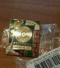Hard Rock Cafe - Foxwoods - 2005 - Gold Record pin