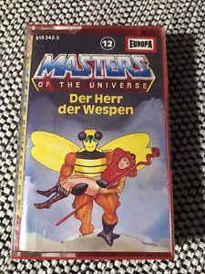 Europa MC Masters of the Universe Nr. 12 Der Herr der Wespen Hörspiel 1986