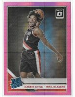 2019-20 Optic Nassir Little Pink Hyper Prizm Rated Rookie SP No. 154