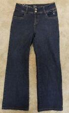 FDJ FRENCH DRESSING BLUES JEANS OLIVIA WIDE LEG SZ 6 (31x30 1/2)