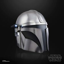 Star Wars Black Series The Mandalorian Premium Electronic Helmet 1:1 Replica