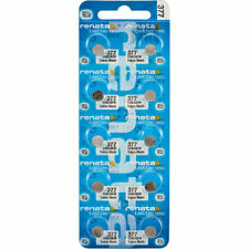 10 x Renata 377 Watch Batteries, SR626SW Battery | Shipped from USA