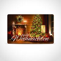 Gold Geschenkkarte / Geschenkidee / 1 Gr. Barren / Weihnachten, Heilig Abend