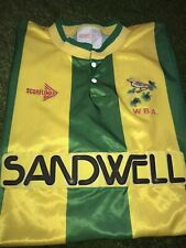 West Brom Away Shirt 1990/91 Large WBA Bromwich Albion ULTRA RARE Vintage 1991