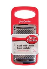 Hand Held Grater with Catcher Container,Betty Crocker 7""