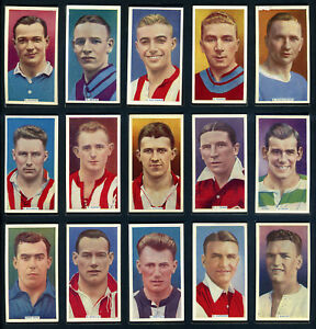 PHILLIPS Cigarette Cards SOCCER STARS - 1936 - Football Players  Select A Card