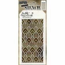 Stampers Anonymous - Tim Holtz - Layering Stencil - Deco Arch