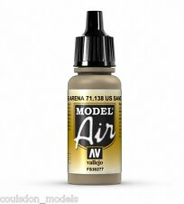 Vallejo Model Air 71.138 US Sand (FS30277) - 17ml Acrylic Airbrush Ready Paint