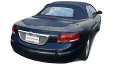 01-06 Chrysler Sebring Convertible Top - Bridgewater Blue Cloth