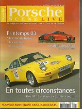 PORSCHE SCENE LIVE 2003 3 PORSCHE 996 GT3 CUP 964 SPEEDSTER 944 S2 964 RS 3.6