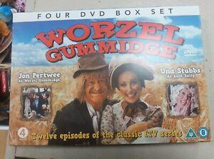 4 DVD box Set Worzel Gummidge 12 episodes of classic ITV series