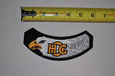 1997 Hog Harley Davidson Owners Group MotorCycle Cloth Jacket Patch New NOS