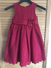 Beautiful American Princess Layered Red Dress, Age 5 Years, Christmas Party (A8)