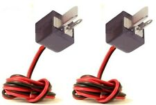 2 X 2 PIN SPEAKER DIN PLUG PLUGS MALE HI-FI CONNECTORS CABLE LEAD