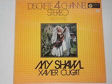 XAVIER CUGAT -My Shawl- LP  4-Chanel-Stereo  Japan-Pressung JVC