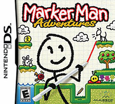 NEW DS, DSI, DS, 2DS Game Works in 3DS     Marker Man   MAKE AN OFFER