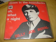 "BILLY JOE ROYAL ""DOWN IN THE BOONDOCKS""  OLANDA'69"