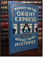 Murder on the Orient Express Mysteries A. Christie Sealed Leather Bound Hardback