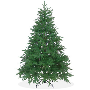 Künstlicher Weihnachtsbaum Nordmanntanne DeLuxe PE Spritzguss, grüner Tannenbaum