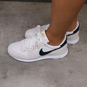 Nike Internationalist Sneaker Freizeitschuhe Schuhe Damen Weiß 828407 108