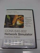 Network Simulator, Academic Edition CCNA-640-802 Wendell Odom New Factory Sealed