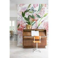 Peonies flowers wall mural Floral removable wallpaper wall art Peel and stick