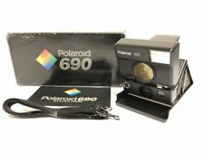 MINT in BOX Polaroid 690 SLR Instant Film Camera w/ Strap , Manual from Japan