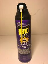 Raid Max Foaming Bed Bug Killer 14.5 oz.