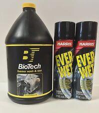Foamer Wash & Wax 128 oz (1 Unit) + Ever Wet Spray Tire Shine 13 oz (2 Units)