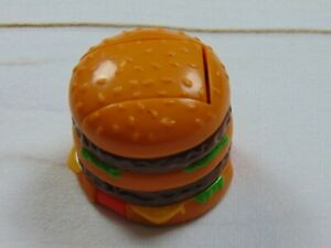 McDonalds Happy Meal Toys Changeable's 1990 Transformers Big Mack Burger Dino