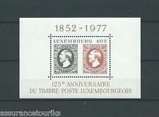 LUXEMBOURG - 1977 YT 10 - BLOC NEUF** LUXE