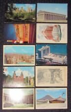 Vintage Mixed LOT of 10 POST CARDS Architectural D VG+ to FN+